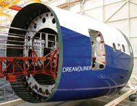 Boeing 787 fuselage