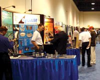 SAMPE exhibitors in Long Beach