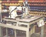 A desk-size, $50,000 sewing machine
