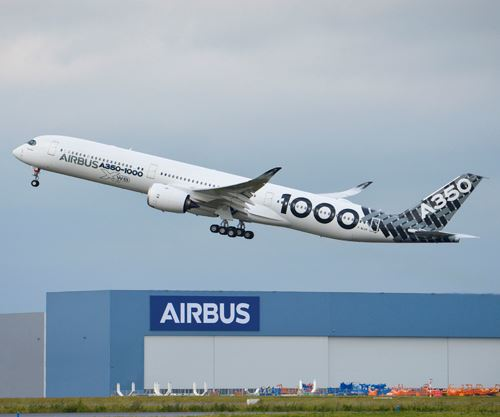 A350-1000 Airbus Early Long Flight