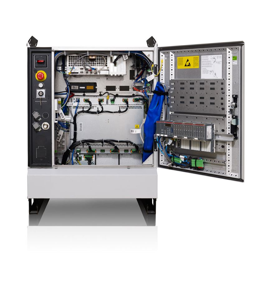 Integrated PLC and Robot Controller