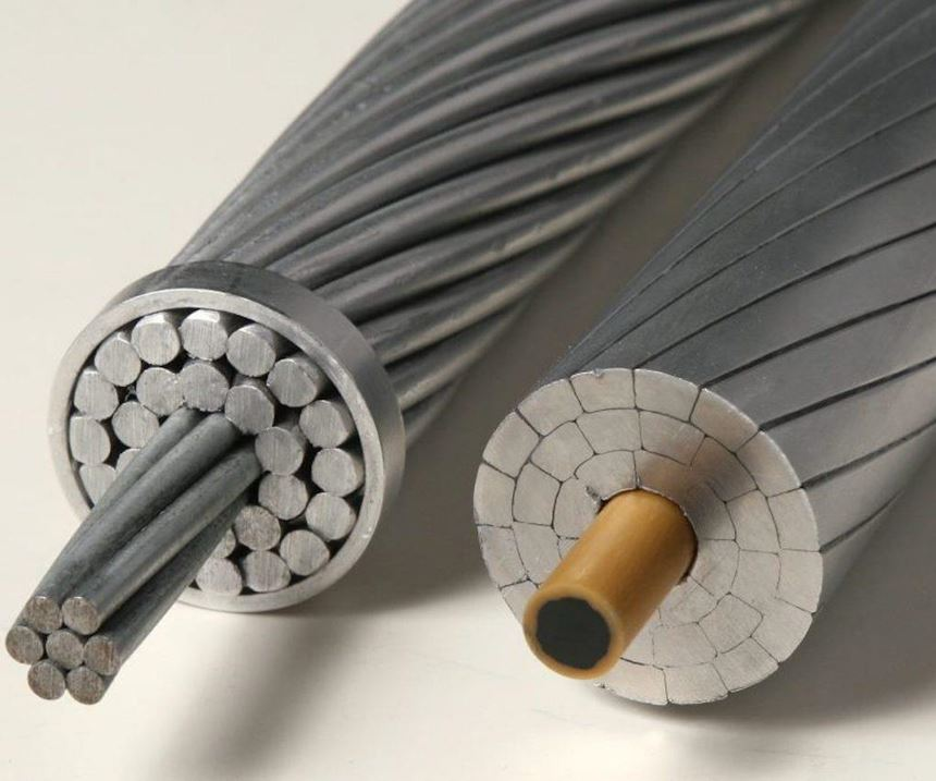 Conventional ACSR and modern high-capacity, low-loss conductors