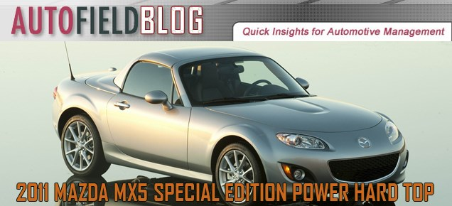2011 Mazda MX5 Special Edition Power Hard Top