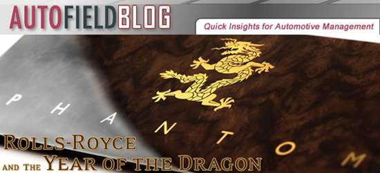 Rolls-Royce and the Year of the Dragon
