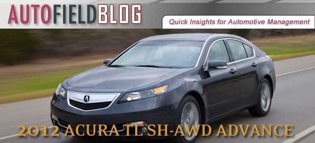 2012 Acura TL SH-AWD Advance