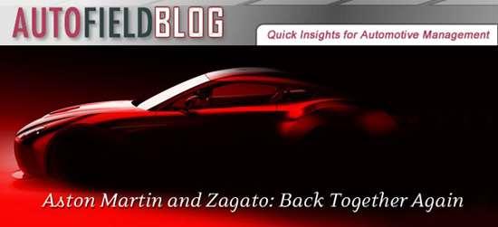 Aston Martin and Zagato: Back Together Again