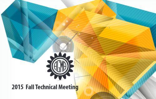 AGMA Fall Technical Meeting logo