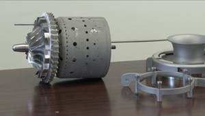 Video: Miniature Jet Engine Made with Additive Manufacturing
