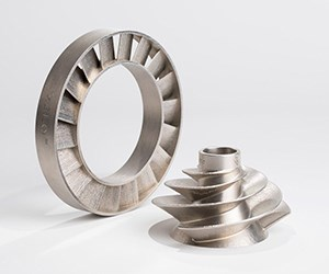 powder bed metal additive manufacturing for production