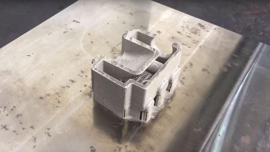 metal 3D printed part