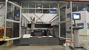 Big Area Additive Manufacturing (BAAM) 3D printer
