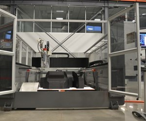 Big Area Additive Manufacturing (BAAM) 3D printer