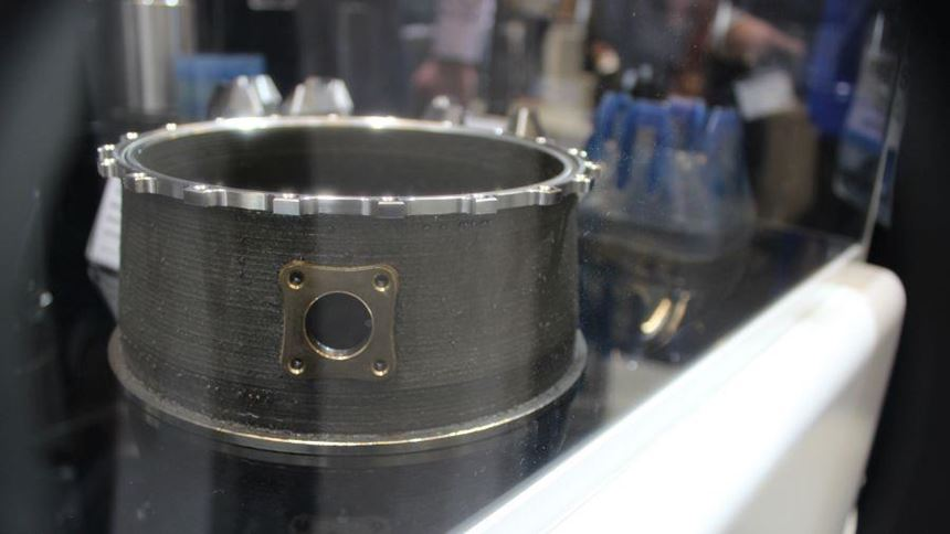 Additively manufactured turbine casing