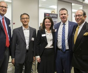 Rey Chu, PADT; Ann McKenna, ASU Polytechnic School; John Murray, Concept Laser; Don Godfrey, Honeywell