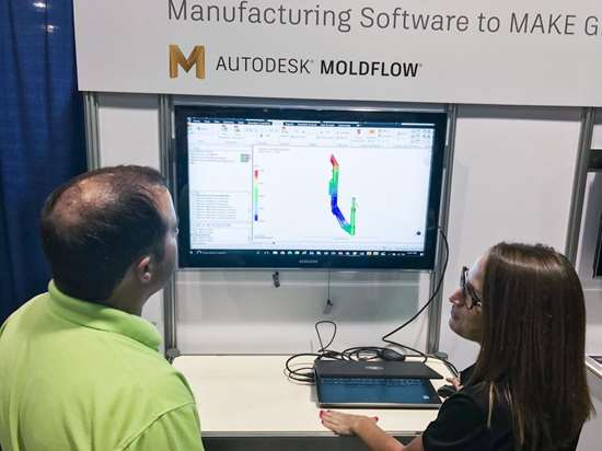 Moldflow plastic injection molding simulation