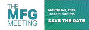 Save the Date The MFG Meeting