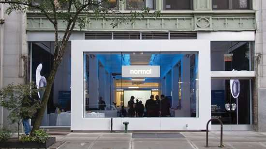 Normal's sales outlet and office