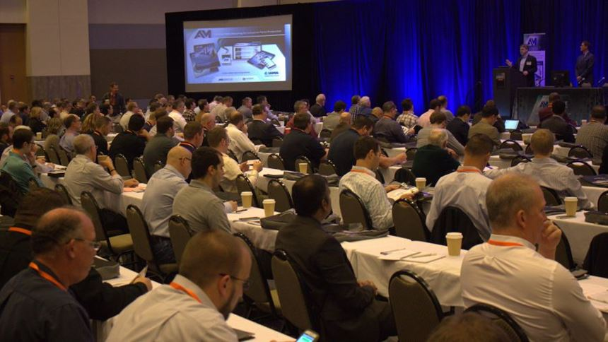 2015 Additive Manufacturing Conference attendees