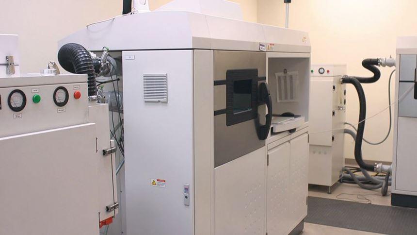 ventilation equipment installed on a machine
