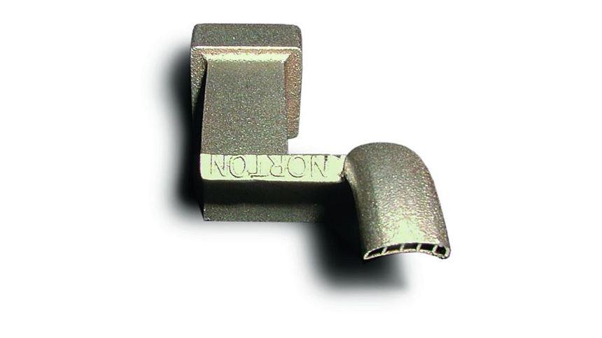 The nozzle made via DMLS.
