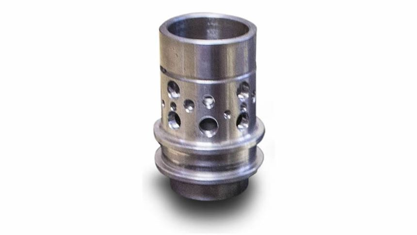 An example of a part made by Swiss Automation.