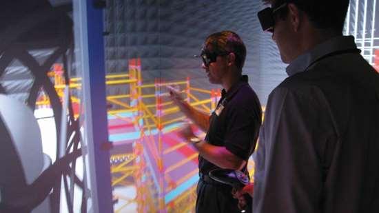 Pete Zelinski at Collaborative Human Immersive Laboratory