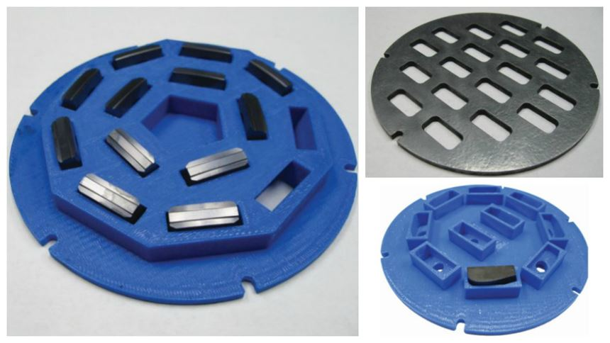 3D printing insert carriers