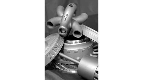 DMLS metal parts