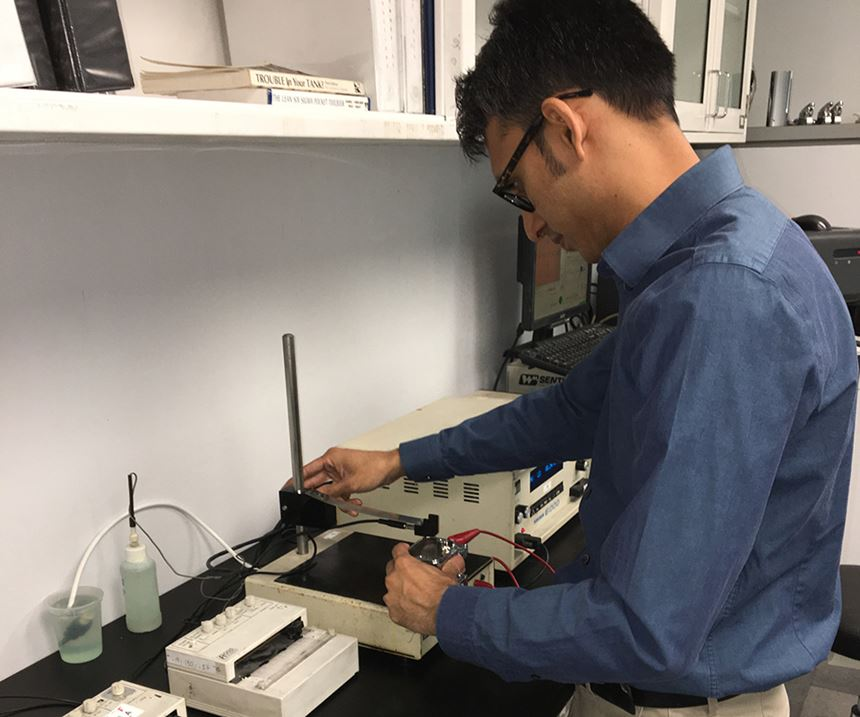 Arlington Plating Company Materials Reliability Testing Laboratory
