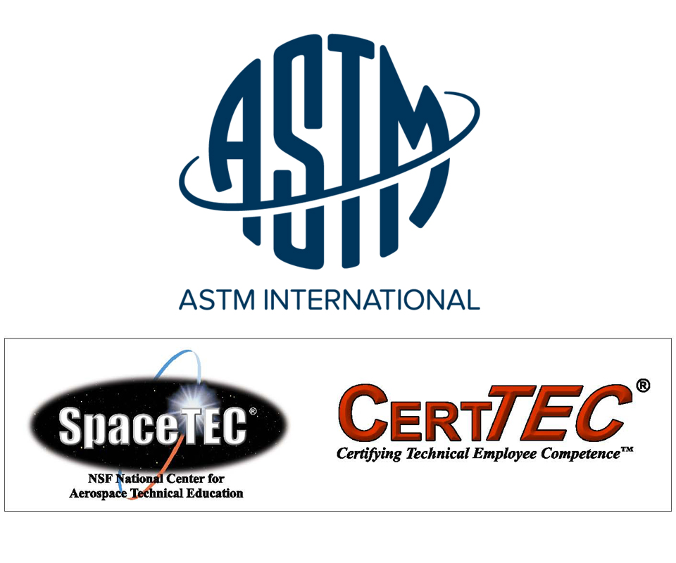 ASTM International and SpaceTEC partner