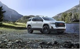 GMC Acadia Adds an Engine—and an AT4 Package