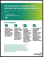 Evolution of the Automotive Supply Chain