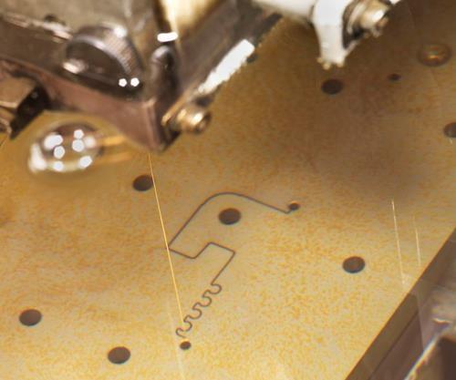 wirecut close-up