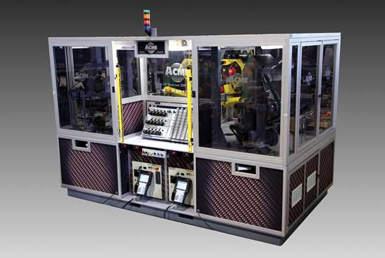 Acme Dual-Robot Finishing Cell