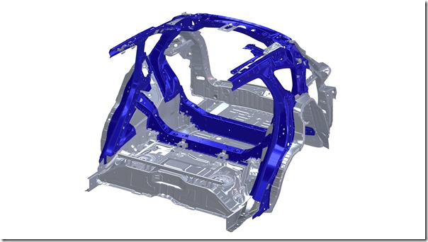 2019 Acura RDX Rear Double Ring Load Path Construction