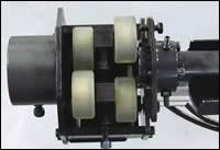Adjustable polyurethane rollers