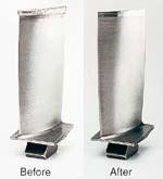 Aircraft compressor blade segment