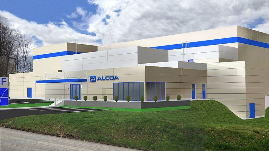 Alcoa AM facility rendering