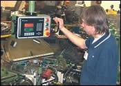 Alert Displays On Machine Control