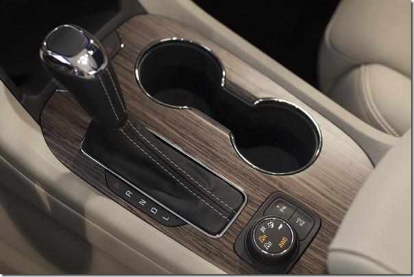 2017 All-New GMC Acadia Drive Mode Selector