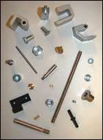 American Eagle custom hardware components for slot machines