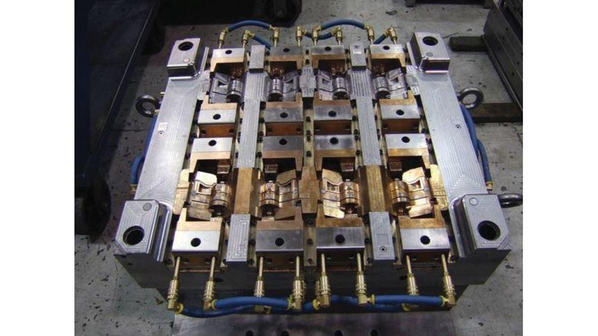 Crest Mold Technology-produced mold