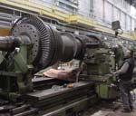 An engine lathe