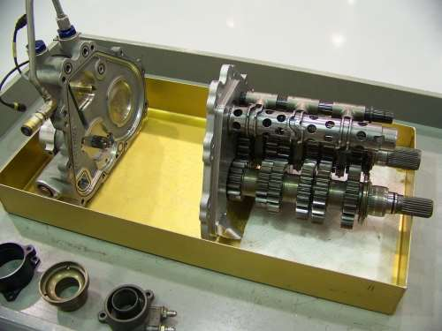machined parts for six-speed gearboxes