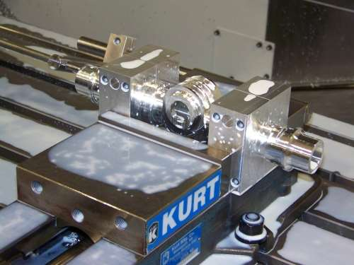 component machined in NV5000DCG