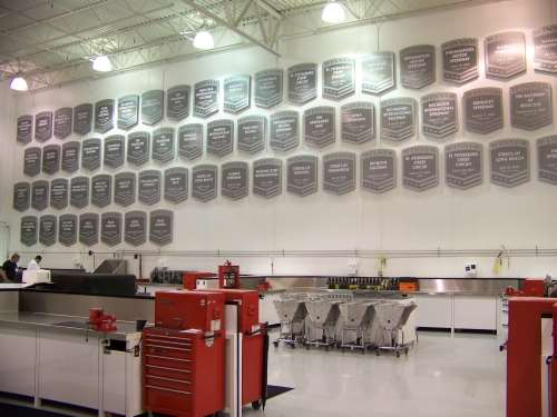 Andretti Autosport wall of fame