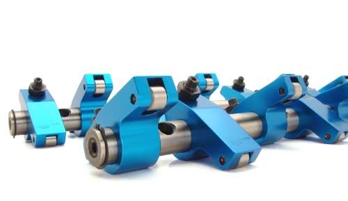 Anodized roller rockers