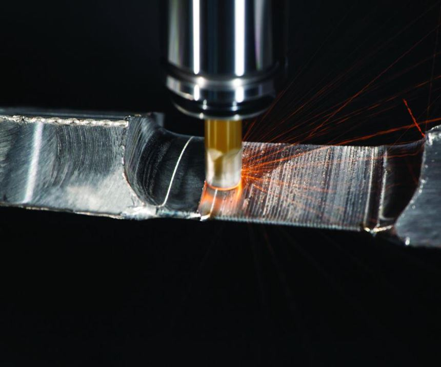 Solid ceramic end mill cutting