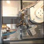Arm-mounted B-axis head