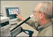 AromaTrax GC-MS olfactometry system